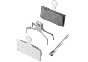 Placute frana Shimano G03TI Metalice cu suporti din titan