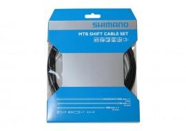 Set cabluri schimbatoare Shimano MTB SIS-SP41 Negre