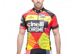 Tricou Cinelli Team 2015 Chrome