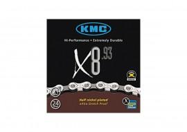 Lant KMC X8-93 8 Viteze Argintiu