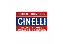 Sticker Cinelli Targa Official Agents