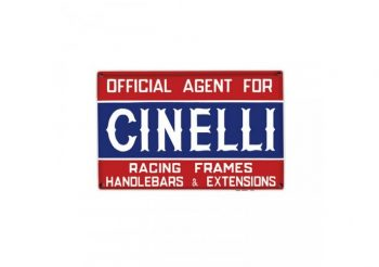 Sticker Cinelli Targa Official Agents