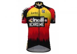 Tricou Cinelli Team Chrome 2016-2