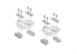 Set refletorizante pedale ShimanoSM-PD61 pentru PD-A530