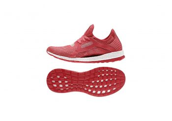 pantofi-sport-dama-adidas-pure-boost-x-rosu-alb