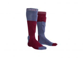sosete-cu-protectii-glezne-ion-bd-socks-2-0-rosu
