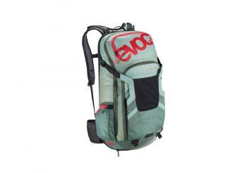 Rucsac cu protectie Evoc FR Trail Team 20L Petrol