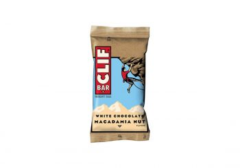 Baton CLIF Bar White Chocolate Macadamia 68 gr.