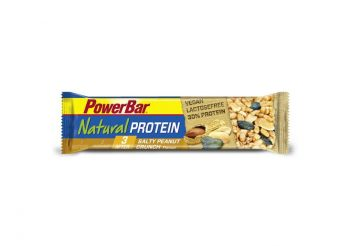 Baton PowerBar Natural Vegan Salty Peanut Crunch 40 gr.