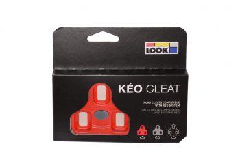 Placute Pedale Automate Look KEO Rosu 9°
