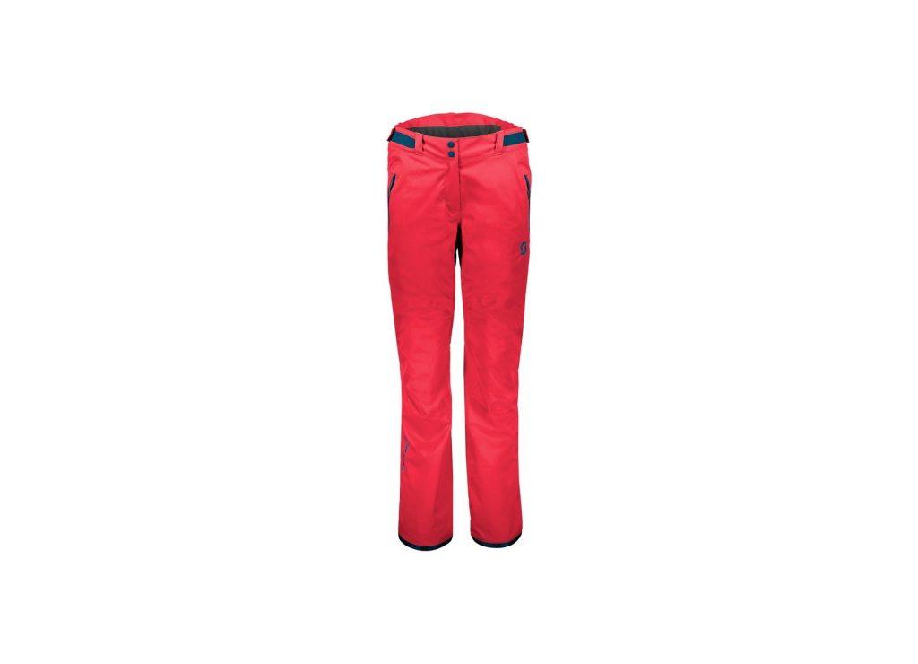 Pantaloni ski dama Scott Ultimate Dryo 10 Melon Red