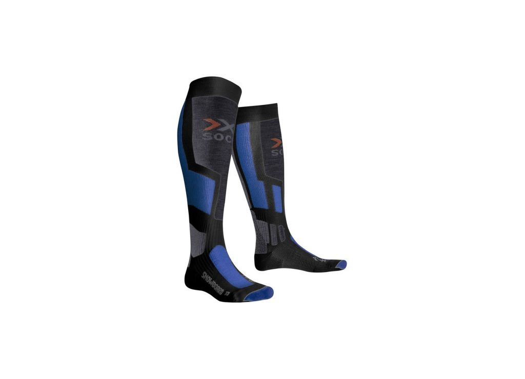Sosete X-Socks Snowboard Anthracite-Azure